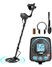VIVOHOME Metal Detector Waterproof with Headphone for Adults Kids, Adjustable Length 41-52 inch, High Accuracy with a HD LCD Screen