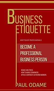Business Etiquette Professional coworkers Corperate ebook