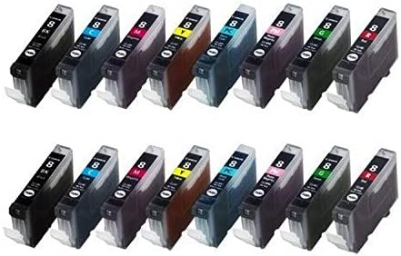 CLI-8BKCMYPCPMGR/_2PK SuppliesMAX Compatible Replacement for Canon PIXMA Pro 9000 Inkjet Combo Pack 2//PK-BK//C//M//Y//PC//PM//G//R CLI-8