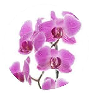 alfombrilla de ratón orquídeas - ronda - 20cm