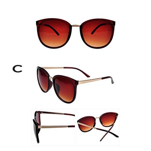 de Lunettes Outdoor Couleurs 3 Fulltime de Hommes Lunettes soleil C Femmes Soleil UV400 élégants Casual wCvB5TqS