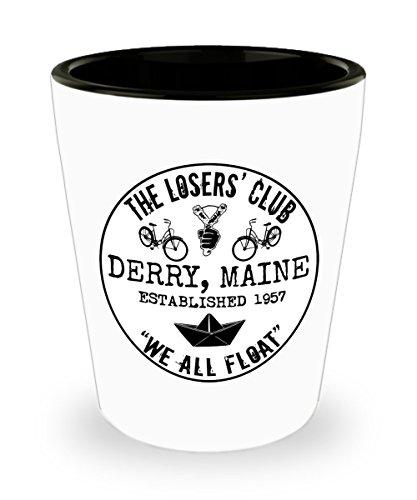 The Losers' Club We All Float Stephen King It Shot Glass Mug