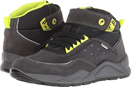 Primigi Boys' Ptbgt 23936 Hi-Top Trainers, Grey (GR.SC Nero 11), 1 UK 1 UK