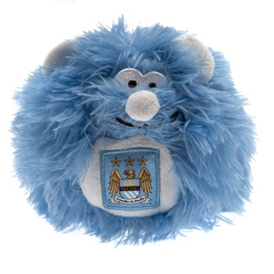 Giftlocaluk Official Manchester City Fc Plush Ball Soft Toy A Great Gift / Present For Men Boys Sons Husbands Dads Boyfriends For Christmas Birthdays Fathers Day Valentines Day Anniversaries Or Just As A Treat For Any Avid Football Fan
