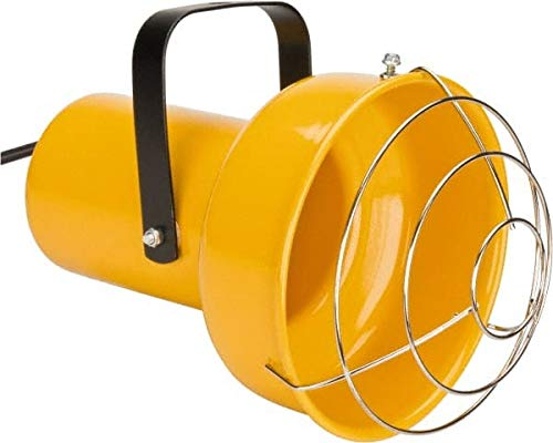 Fostoria - 14 Inch, Pivot, Bracket Mounted, Incandescent, Yellow, Dock Light - 300 Watt, Nonmagnifying