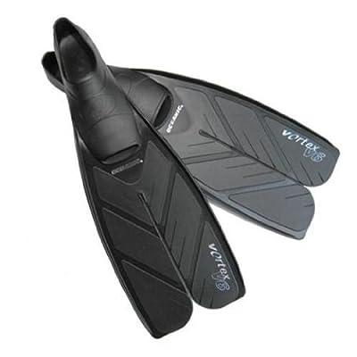 Oceanic Vortex V6 Split Fullfoot Swim Fins - Scuba Diving Fins
