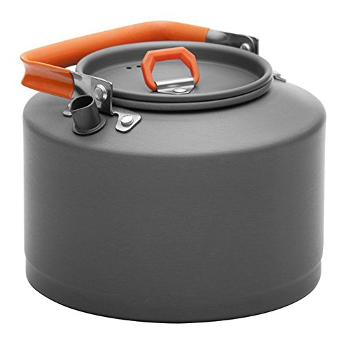 MyLifeUNIT Multifunctional Camping Kettle, Hiking Coffee Pot Kettle, Large Capacity Outdoor for Outdoor 3.3lbs by MyLifeUNIT