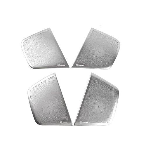 Matte Inner car Door Speaker Trim Cover 4pcs For Benz GLA X156 2014 -2016 -  ShenzhenBoXi, 26314321573200