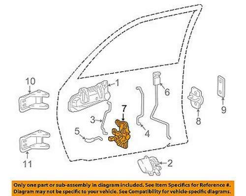 Mopar 55112608AA Door Lock Actuator