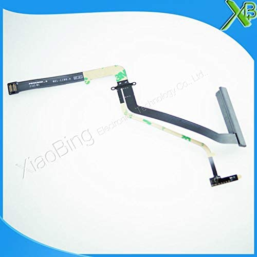 ShineBear 10PCS 821-1198-A HDD Hard Drive Flex Cable for MacBook Pro 15.4 A1286 2009 2010 2011 Years Cable Length: Standard