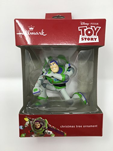 Hallmark Toy Story Buzz Lightyear Disney Pixar Christmas Ornament 2017 (Story Toy Ornament Christmas)