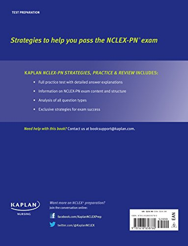 NCLEX-PN 2015-2016 Strategies, Practice, and Review with Practice Test (Kaplan Nclex-Pn Exam)