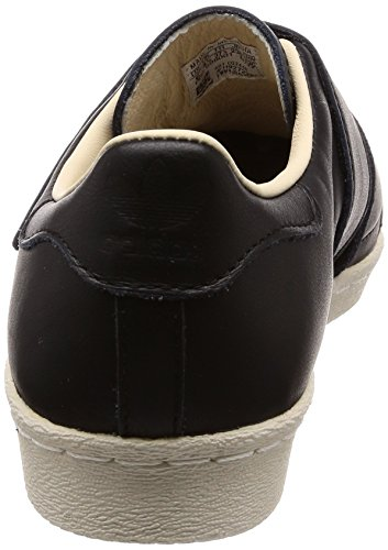 adidas Superstar 80s CF W, Zapatillas de Gimnasia Para Mujer Negro (Core Black/core Black/linen 0)