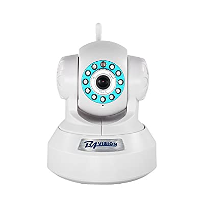 WiFi Wireless Home Security IP Cameras BAVISION Baby Monitor Dog Camera Nanny cam Elderly Monitor Video Monitoring Pan/Tilt Night Vision with Two Way Audio by BAVISION