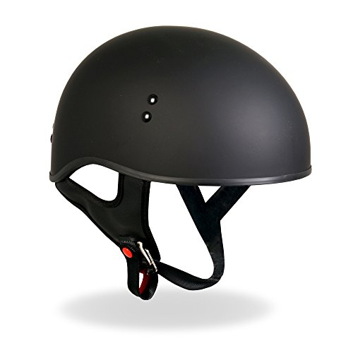 Hot Leathers D.O.T. Approved Motorcycle Helmet with Drop ...