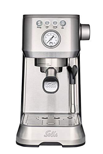 Solis Barista Perfetta Plus 1170 – Cafetera expresso automática – 15 bar – 1,7 L – 1 o 2 tazas – Máquina de café expreso…