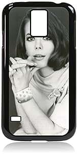 Natalie Wood- Hard Black Plastic Snap - On Case-Galaxy s5 i9600 - Great Quality!