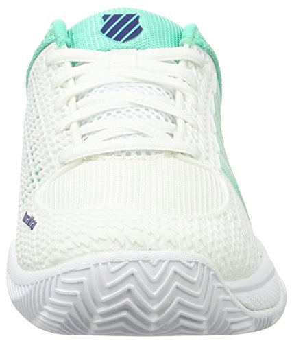 K Women's Electric Swiss White Performance Shoes 178m Blue Tennis Light White Express Ribbon Green Hb qq1warR