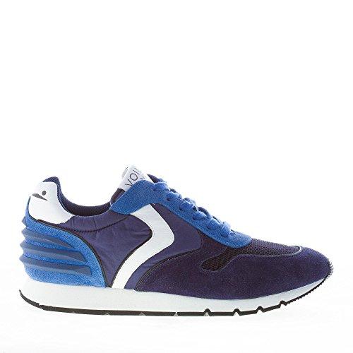 Uomo scarpa sportiva, colore Blu , marca VOILE BLANCHE, modello Uomo Scarpa Sportiva VOILE BLANCHE LIAM POWER Blu blu