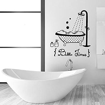 Annedenn Schwarze Wand Aufkleber Badezimmer Dekorative Tapete