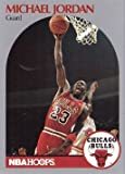 1990-91 NBA Hoops #65 Michael Jordan Basketball Card Chicago Bulls