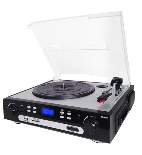 Price comparison product image SuperSonic Retro Turntable System with Analog Conversion