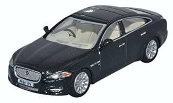 OXFORD DIECAST 76XJ005 Jaguar XJ Ultimate Black