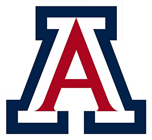 Crazy Discount Arizona Wildcats NCAA Vinyl Sticker Decal Outside Inside Using for Laptops Water Bottles Cars Trucks Bumpers Walls, 3