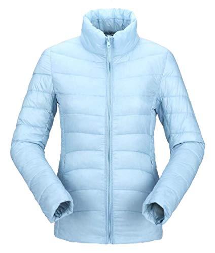 Gocgt Donne 3 Leggera Piumino Collare Basamento Packable Isolamento Cappotto Delle OUqTYvx
