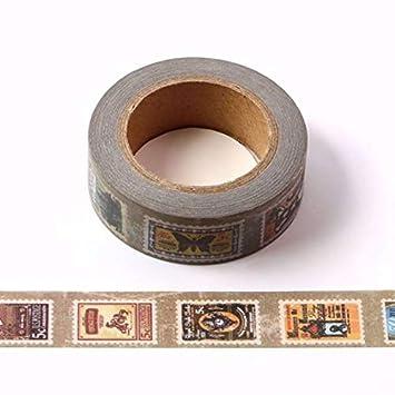 Air Mail Washi Masking Paper Tape 15mm x 10 Metre Roll