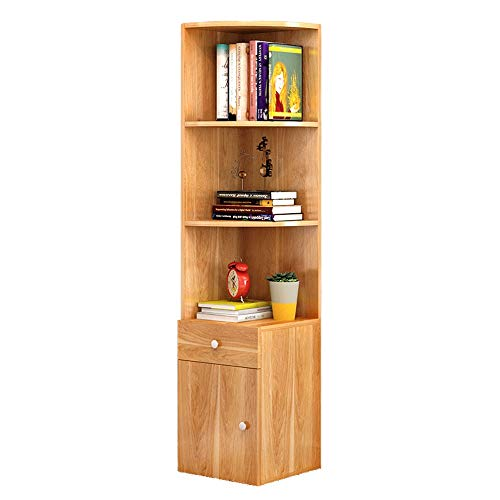 Sdcvopl Open Bookshelf Multipurpose Shelf Display Rack Versatile, Large Capacity (Color : Red Leaf Maple, Size : 3030138cm)