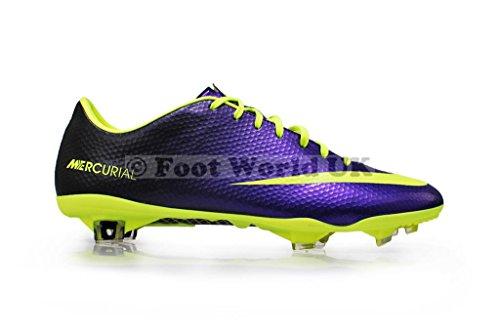 Nike Mercurial Vapor Herren Fußballschuhe Electro Purple/Volt-black