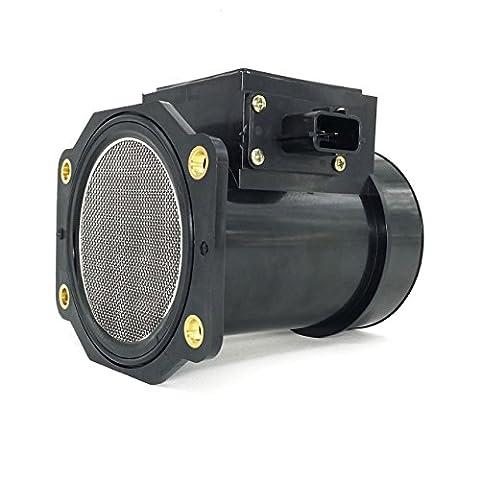 Carrep New Mass Air Flow Sensor Meter MAF Fits 95-99 Maxima J30 Q45 3.0L V6 22680-31U05 - 95 Mass Air Meter