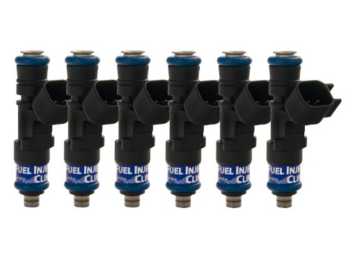 FIC IS168-0525H 525cc Fuel Injector Clinic Set for VW / Audi 6 cyl 53mm High-Z