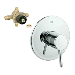 Grohe k19457 35015r 000 concetto tub and shower valve kit - Grohe concetto shower ...