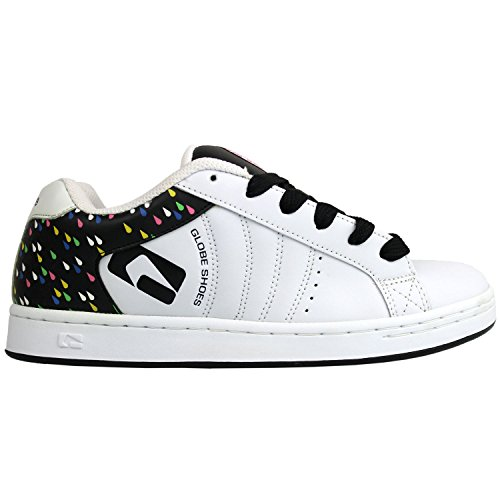 Globe Skatebord Womens Shoes White/Black/Rain Size 5.5 (Shoes Globe Womens)