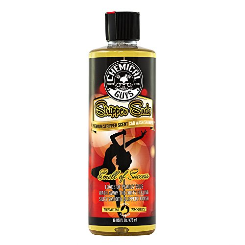 Chemical Guys Stripper Suds Premium Stripper Scent Car Wash High Suds Soap 16 fl. Oz ()