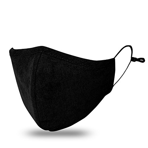 JayJay Pollution Dust Mouth Mask PM2.5 Carbon Filter Washable Cotton With Replaceable - Running Apparel Australia