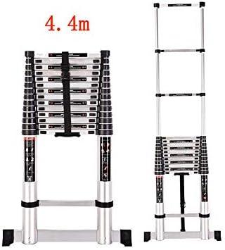 KTYXDE Escalera Plegable con fórmula de contracción Familiar, Escalera Recta, Escalera portátil, Escalera de ático, Taburete de Escalera: Amazon.es: Juguetes y juegos