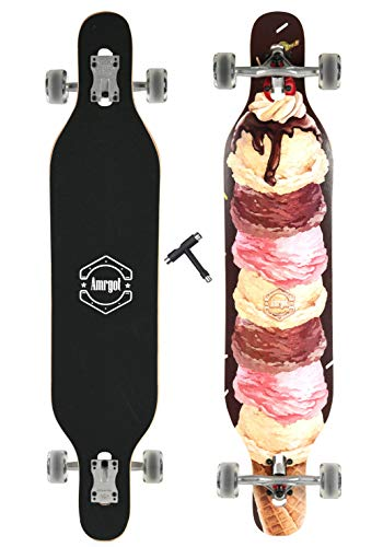 2a3f2d723d Xtreme Free Professional Speed Drop Down Complete Longboard Skateboard(42  Inches) (4)