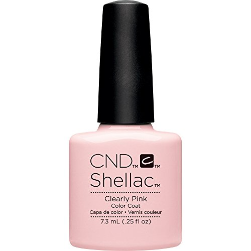 CND Shellac UV Gel - Clearly Pink