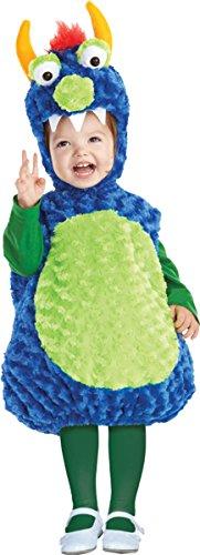 Underwraps Little Girl's Monster Toddler (Underwraps Decor)