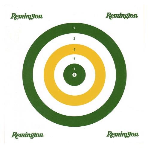 Remington Airguns 89335 Paper Airgun Targets 25 Count Lead - Targets Shooting Remington