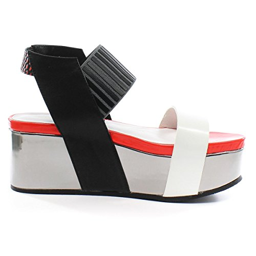 United Nude Zapatos Altos Groovy Coral Coral Mix