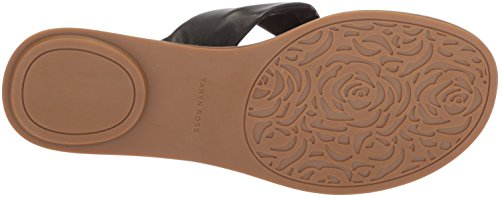 Sheep Sandal Taryn Black Nappa Women''s Rose Flat Karissa pwqwtr