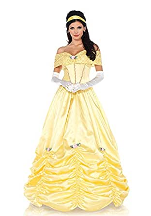 Classic Beauty Costume, Yellow, Small