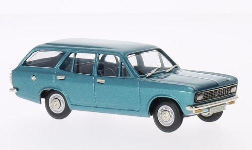 Hillman Avenger Deluxe Estate, metallic-blau, 1972, Modellauto, Fertigmodell, Brooklin 1:43