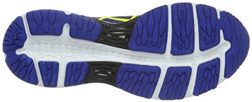 Asics Gel-Cumulus 18, Scarpe da Corsa Uomo Blu (Blue/Yellow)