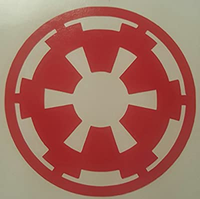 Star Wars Imperial Dark Side Cell Phone Decal RED