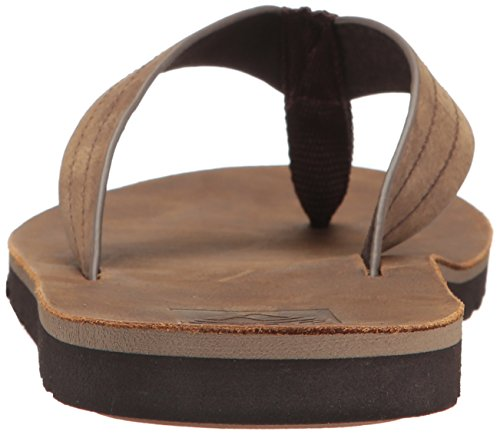 Reef Mens Voyage Le Sandal Dark Brown
